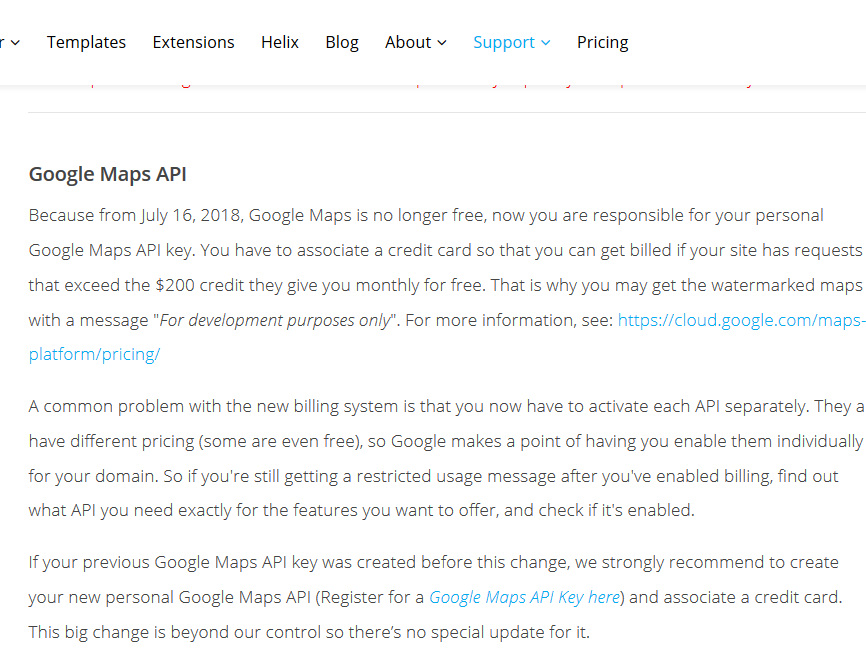 Error in the contact form with SP-Google Maps?